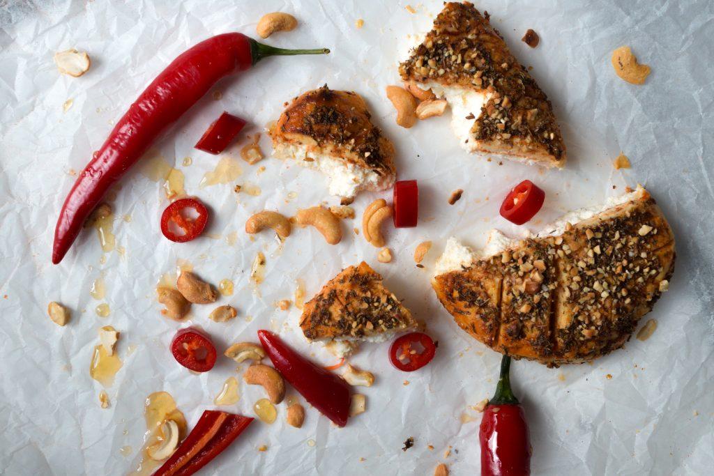 Honey & Chilli Custard Cheese