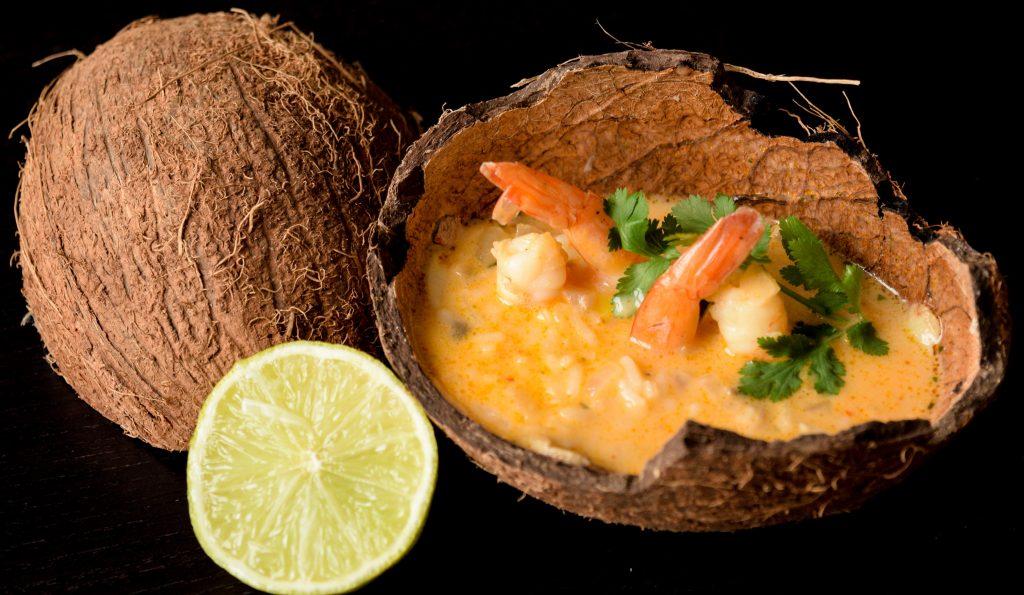 Tailandietiška krevečių sriuba