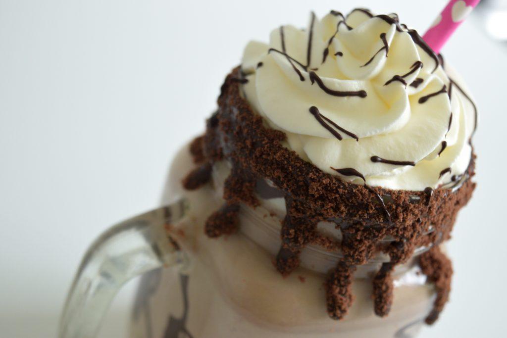 Nutella Cheesecake Milkshake