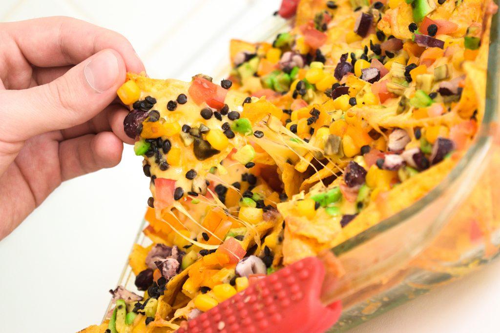 Loaded Colourful Nachos