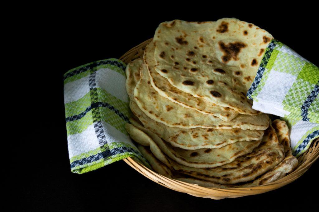 Indiška Naan Duonelė