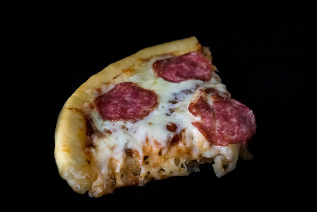 Pizza Hut Storapadė Skardoje Kepta Pica