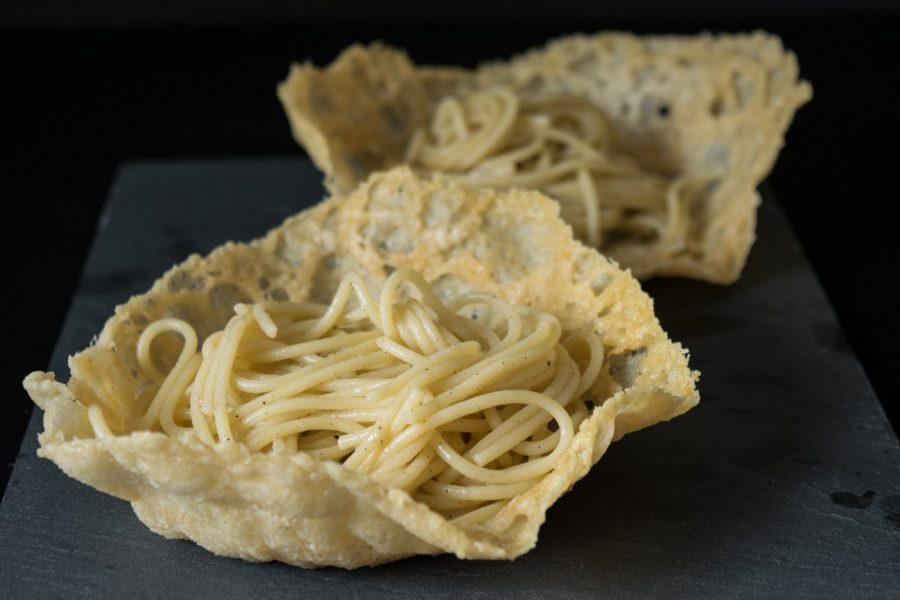 Makaronai su sūriu ir pipirais