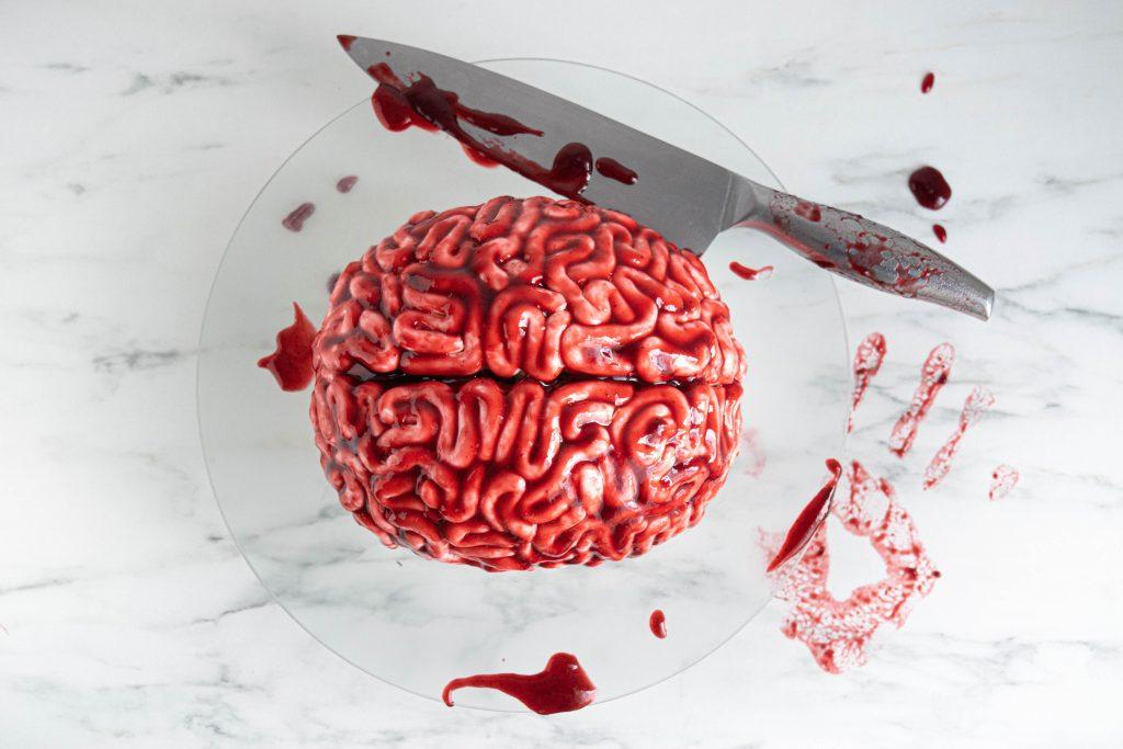 Helovino Moliūgų Tortas - Smegenys