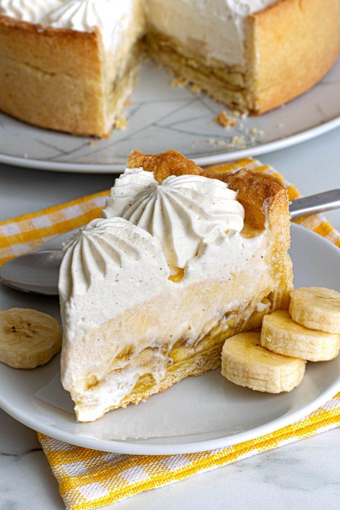 Pats Pačiausias Kreminis Bananų Pyragas